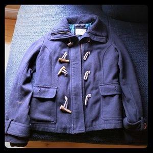 Navy Blue Girls Coat Large
